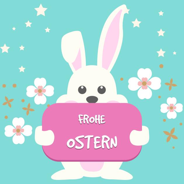 Hase feiert Ostern