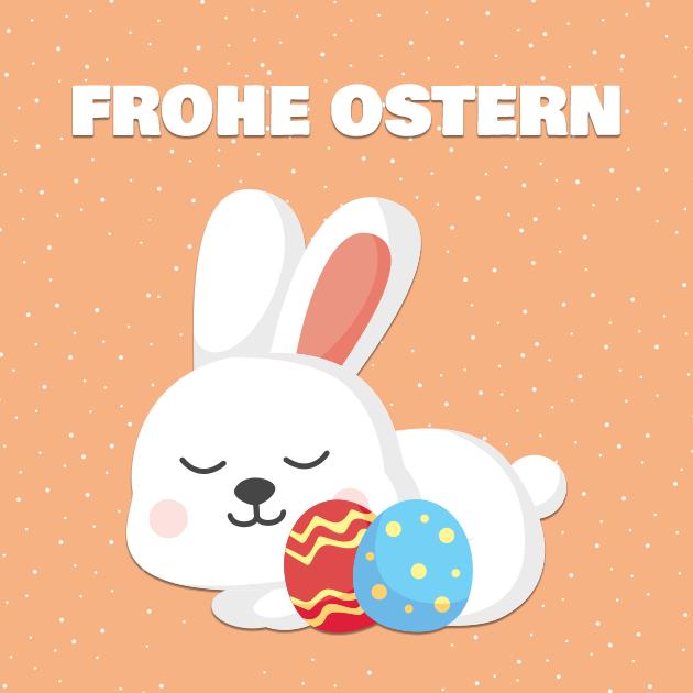 Osterhase liebt dich