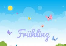 Fruhling Blumen Schmetterlinge