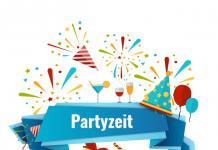 Geburtstag Partyzeit