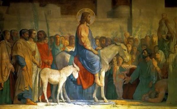Palmsonntag Einzug Jesu Christi in Jerusalem 3