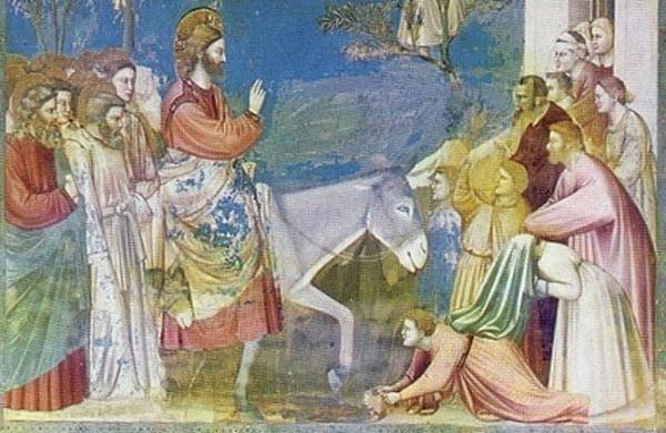 Palmsonntag Einzug Jesu Christi in Jerusalem 4