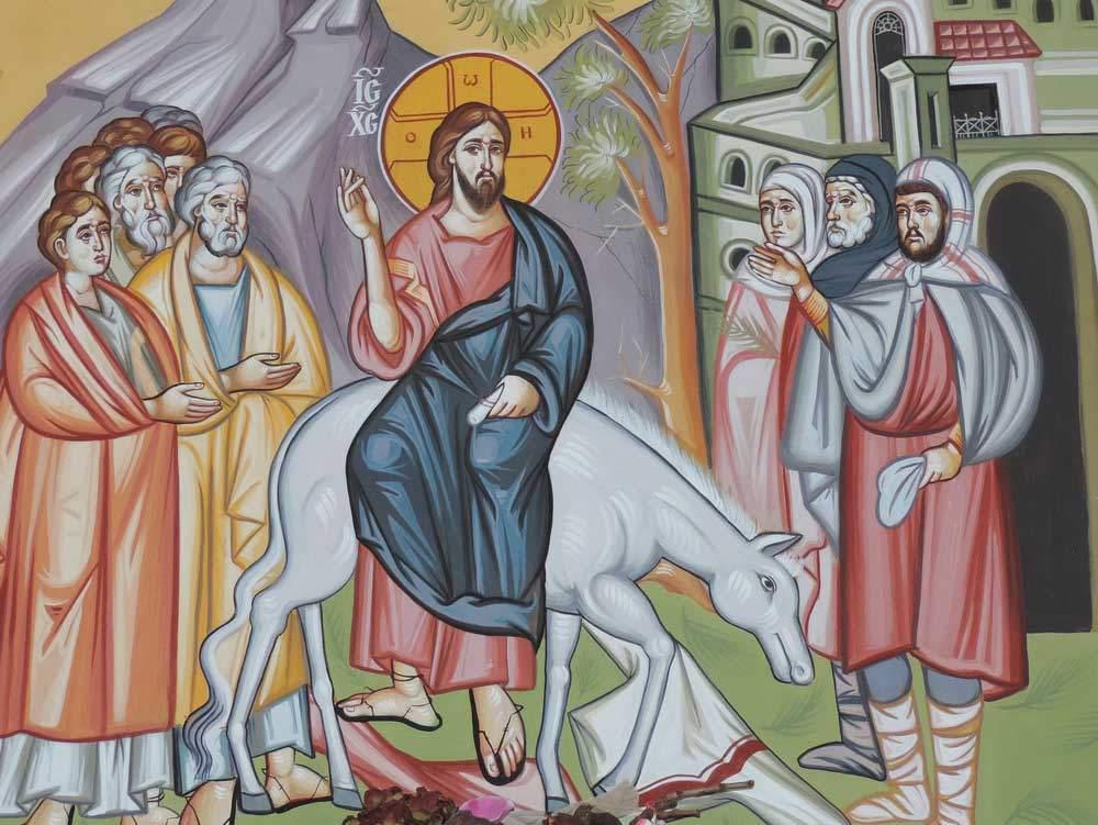 Palmsonntag Einzug Jesu Christi in Jerusalem 5