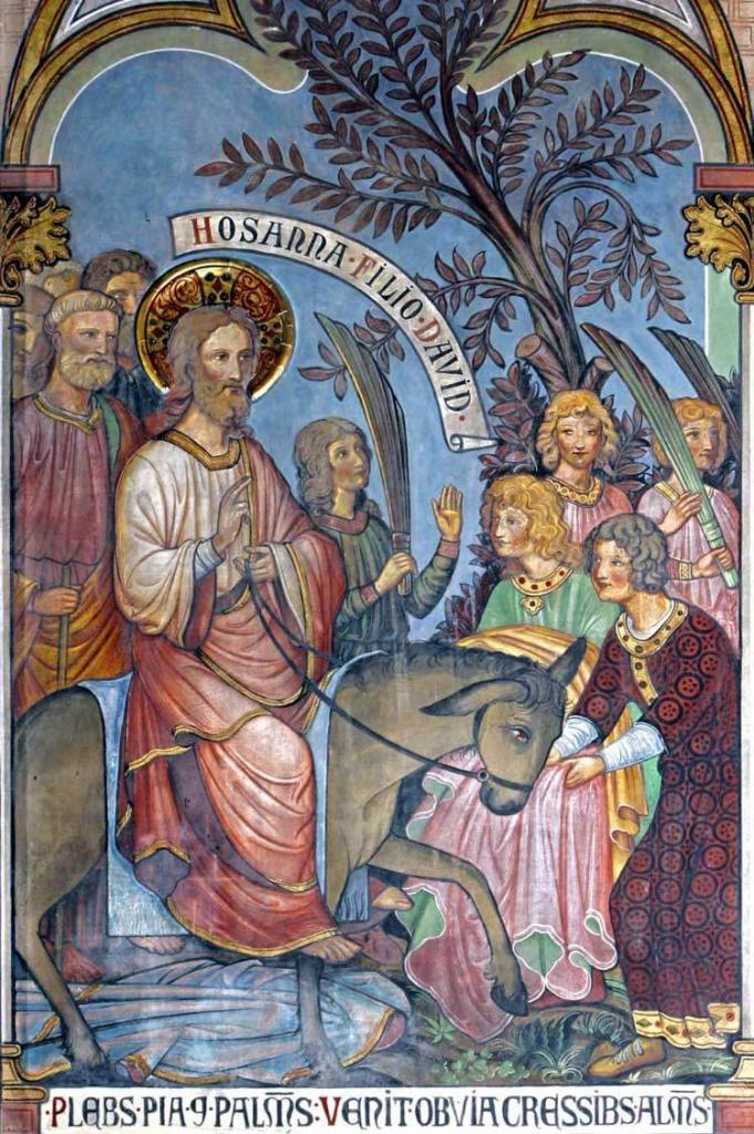 Palmsonntag Einzug Jesu Christi in Jerusalem 6