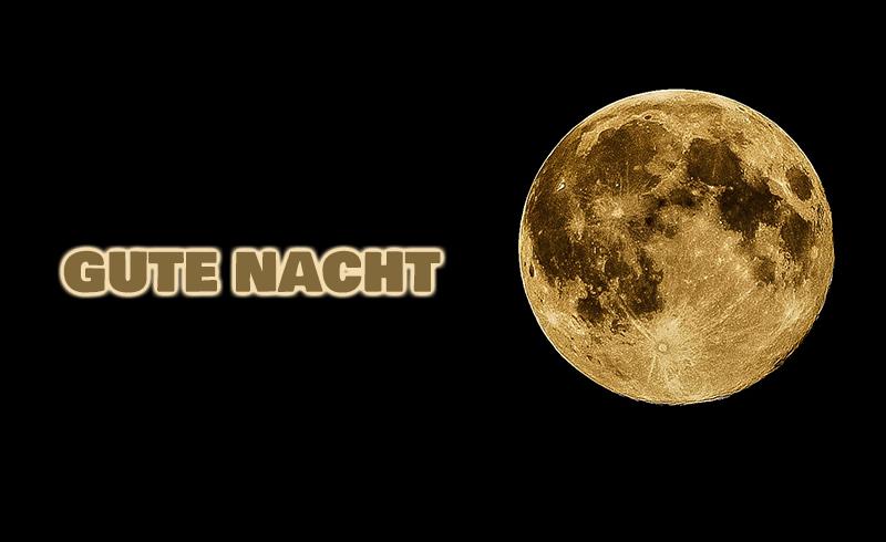 Mond und Nacht