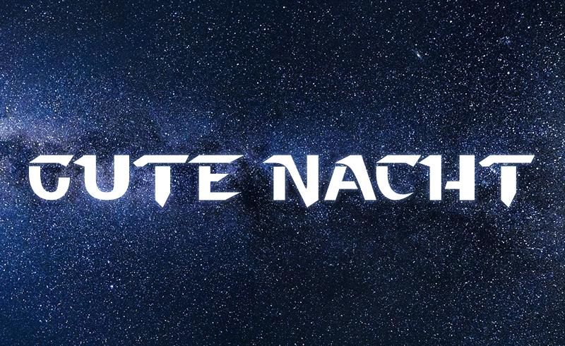 Gute Nacht Star Wars Theme