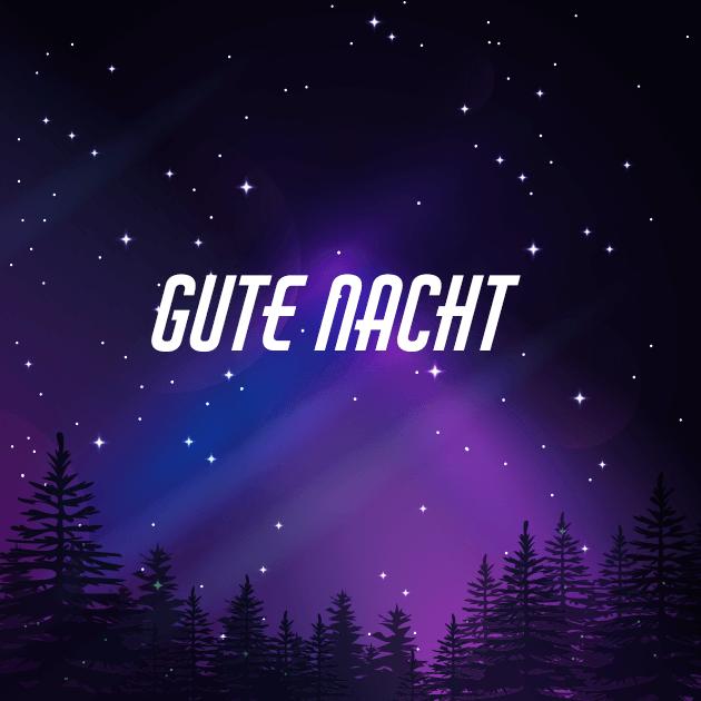 Gute Nacht, Nordlichter