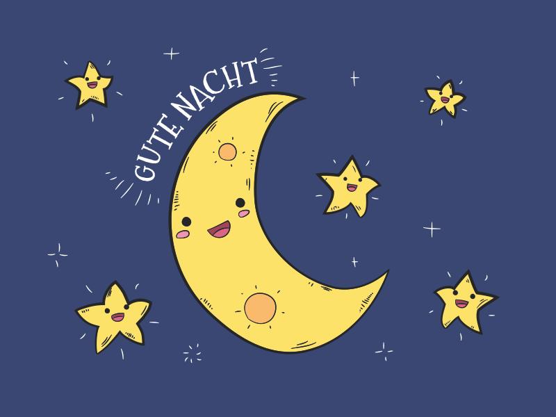 Schönen Abend und Gute Nacht