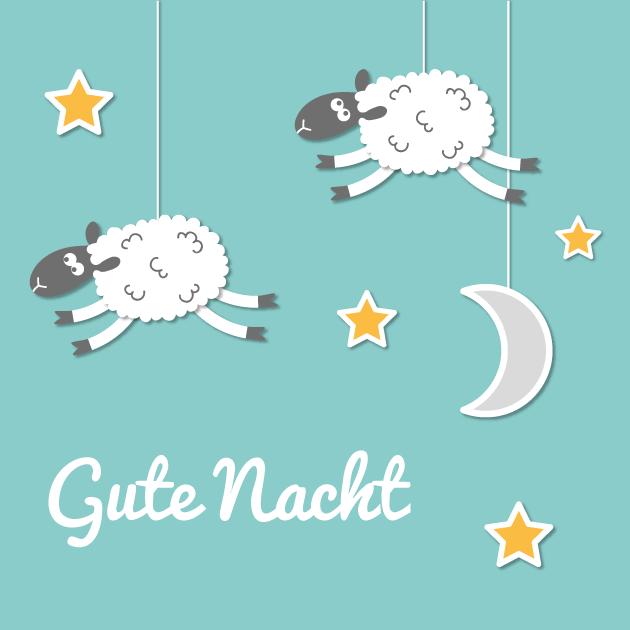 Gute Nacht Schaf