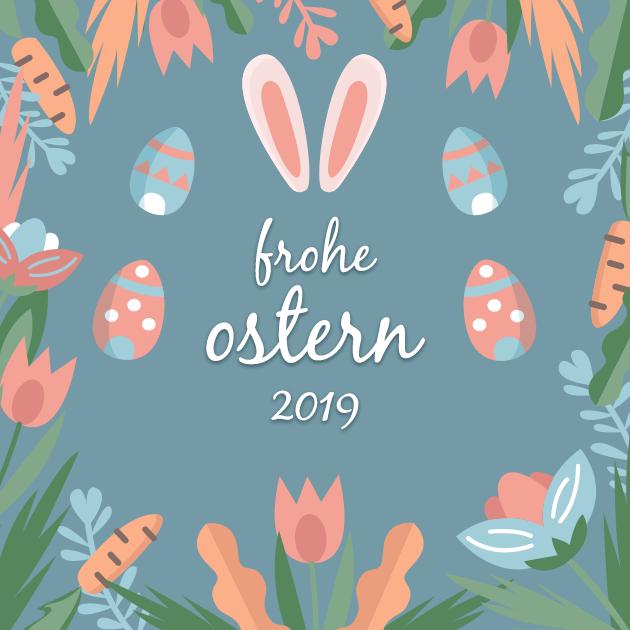 Osterhase und Eier 2019