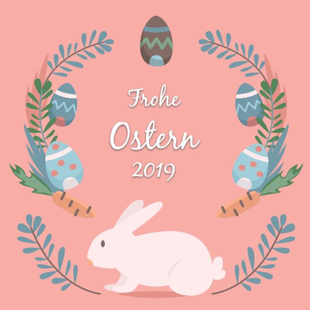 Ostergrußkarte 2019