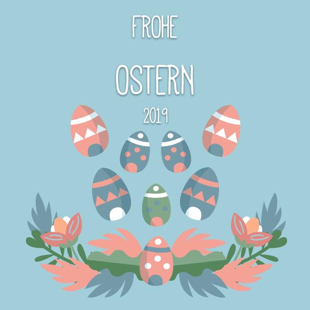 Osterfeierkarte 2019