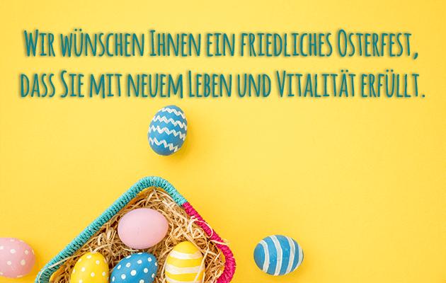 Friedliche Ostern