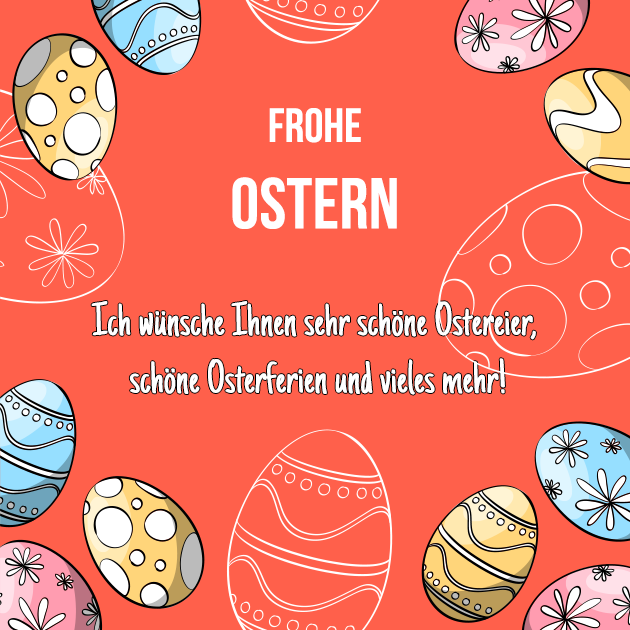 Frohe Osterferien