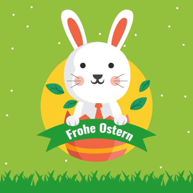 Osterhase Frohe Ostern 2
