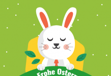 Osterhase Frohe Ostern