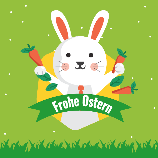 Osterhase Frohe Ostern 3