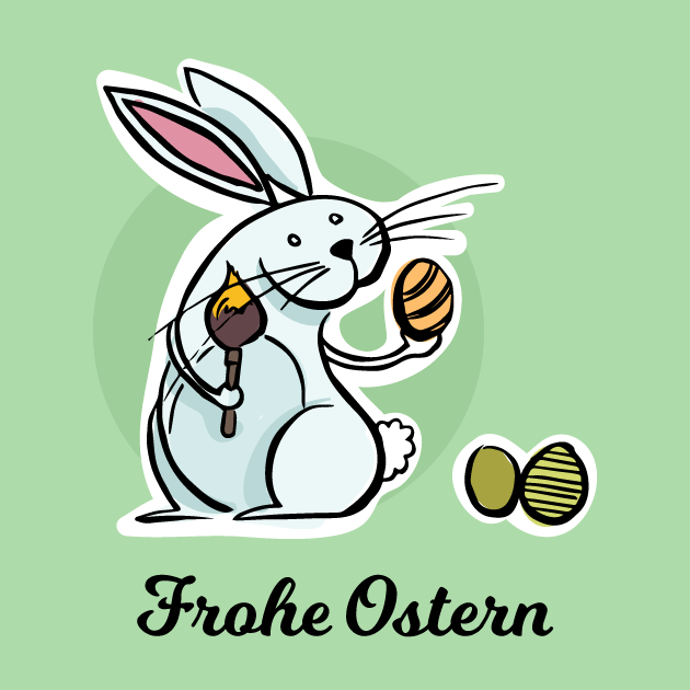 Osterhase Frohe Ostern 7