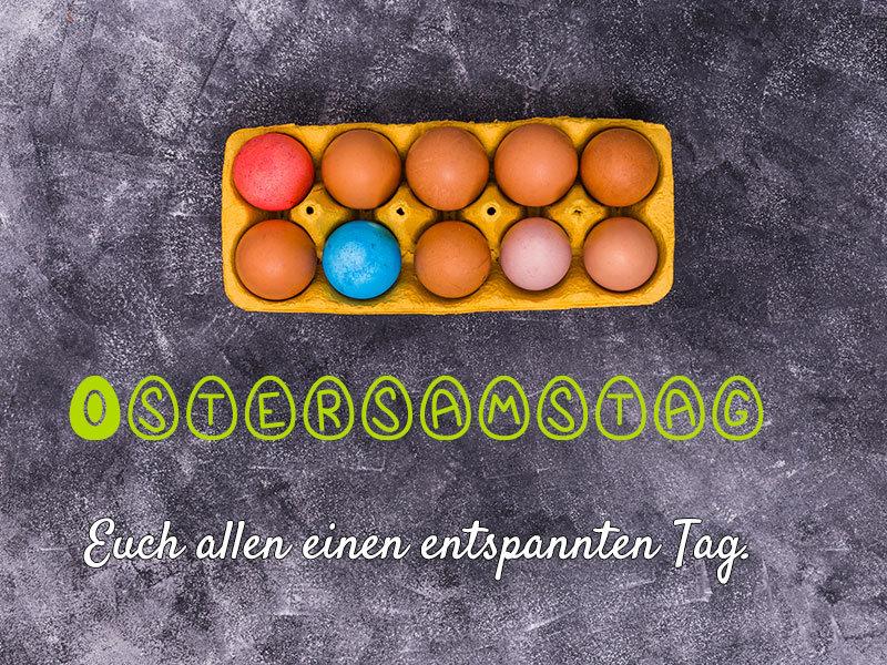 Fröhlichen Ostersamstag