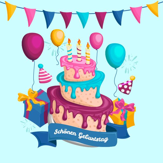 Schönen Geburtstag