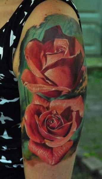 Schulter Tattoo