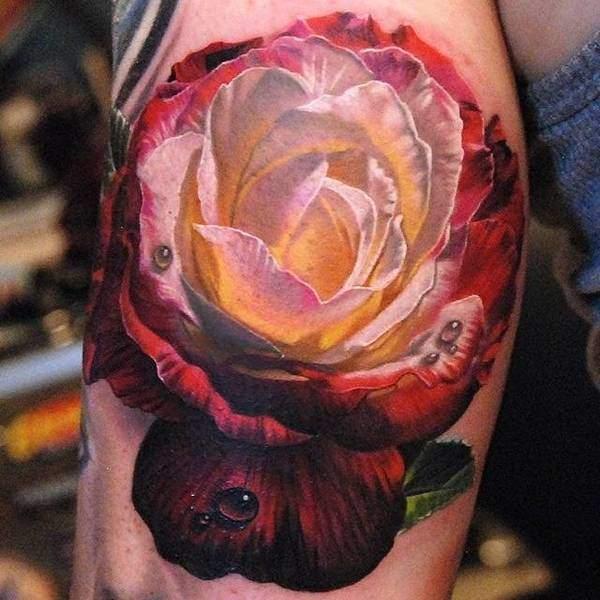 Tattoo Rose 12