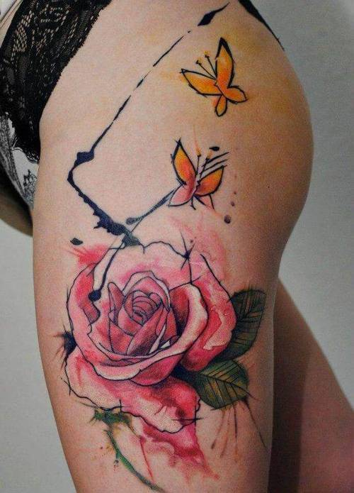 Tattoo Rose 17