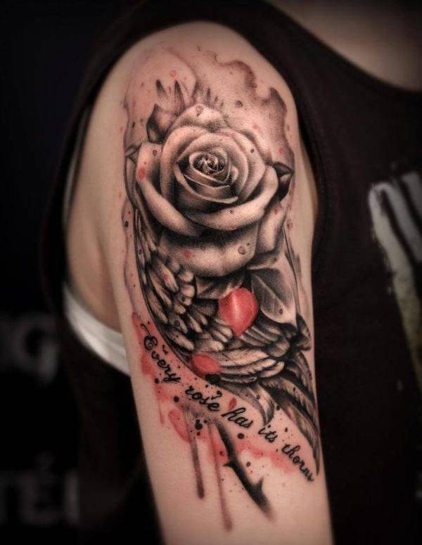 Tattoo Rose Arm 2