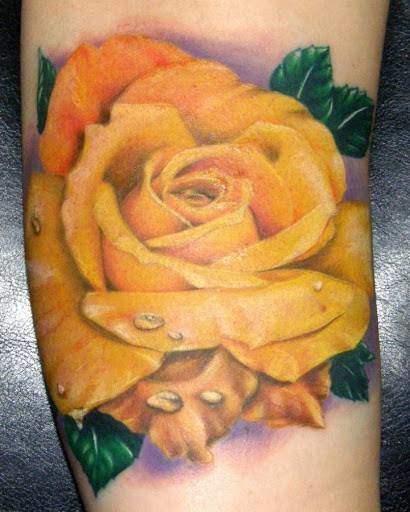 Tattoo Rose Arm 9