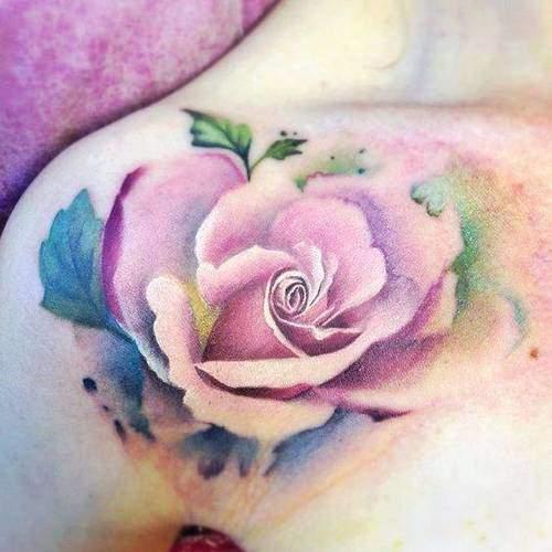 Tattoo Rose Frauen 1