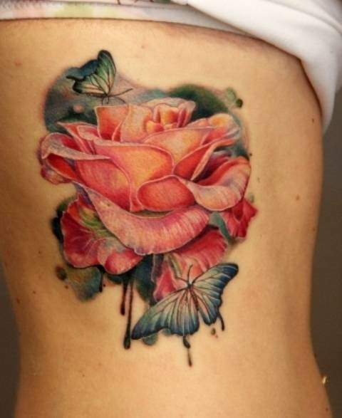 Tattoo Rose Frauen 2