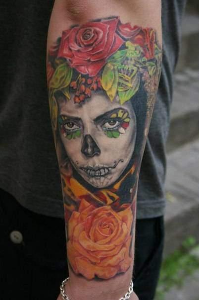 Tattoo Rose Unterarm 4