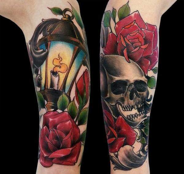 Tattoo Rose Unterarm 5
