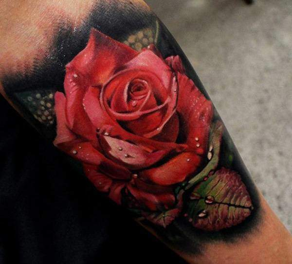 Tattoo Rose Unterarm 6