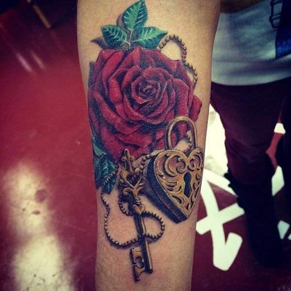Tattoo Rose Unterarm 7