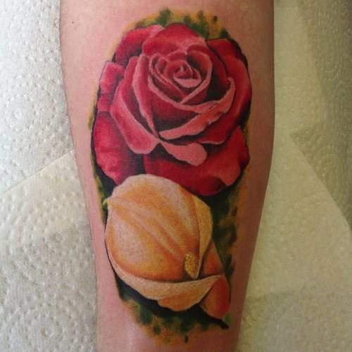 Tattoo Rose Unterarm 8
