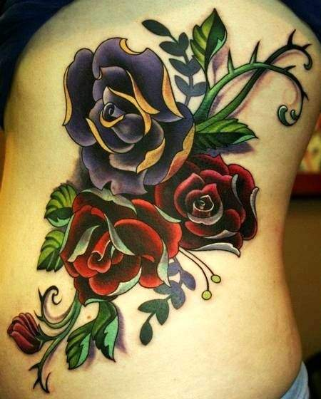 Tattoo Rose ideen 4