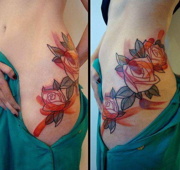 Tattoo Rose ideen 5