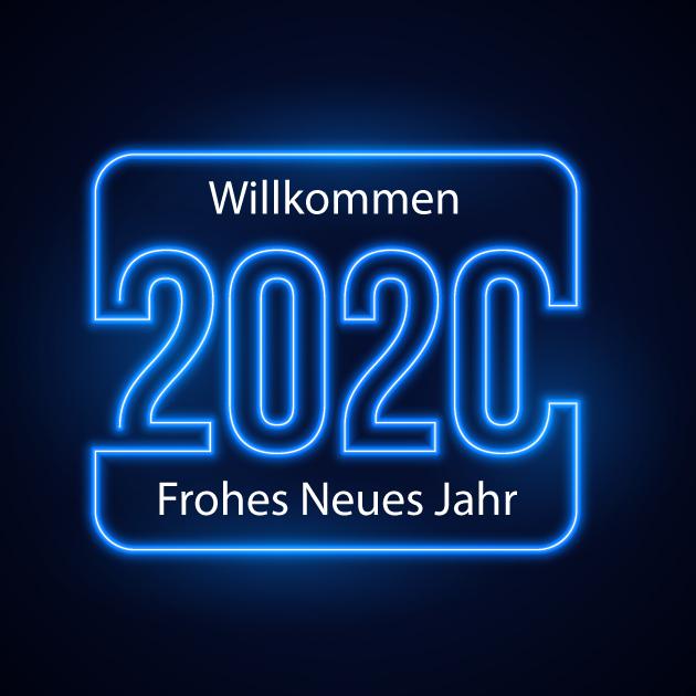 Frohes Neues Jahr 2020 Bilder 3