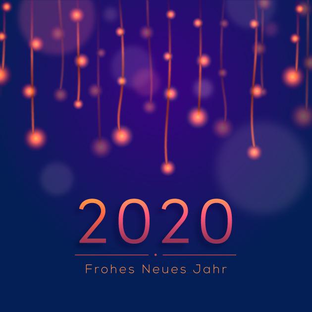 Frohes Neues Jahr 2020 Bilder 4