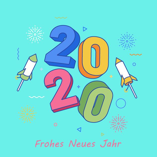 Frohes Neues Jahr 2020 Bilder 5