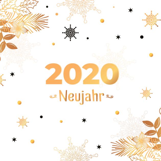 Neujahr 2020 Bilder 7