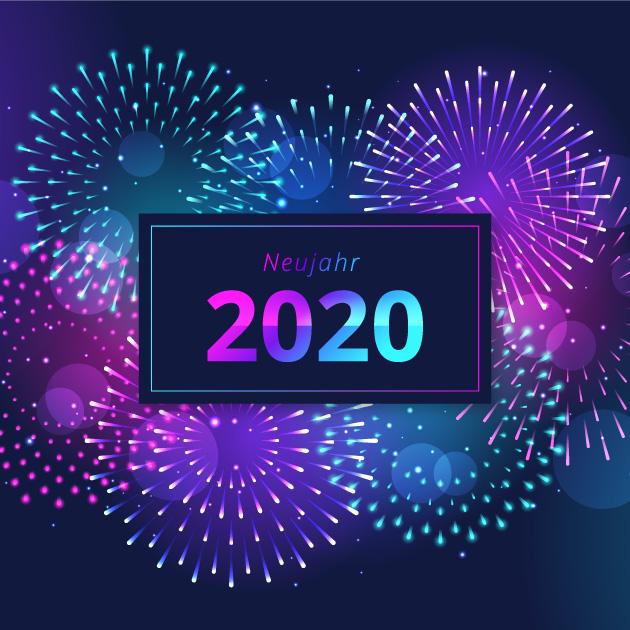 Neujahr 2020 Bilder 8