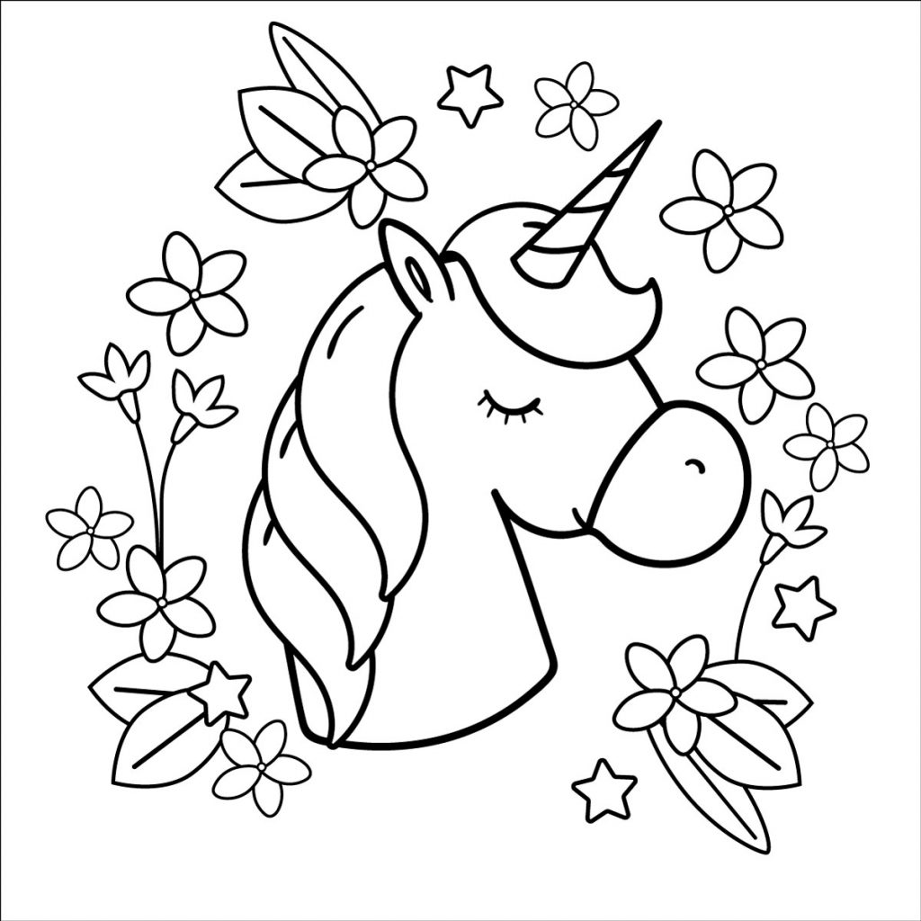 einhorn ausmalbilder pferde mandala  einhorn mandala pdf