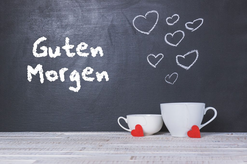 Guten Morgen Kaffee Herz - Wunderbare Bilder