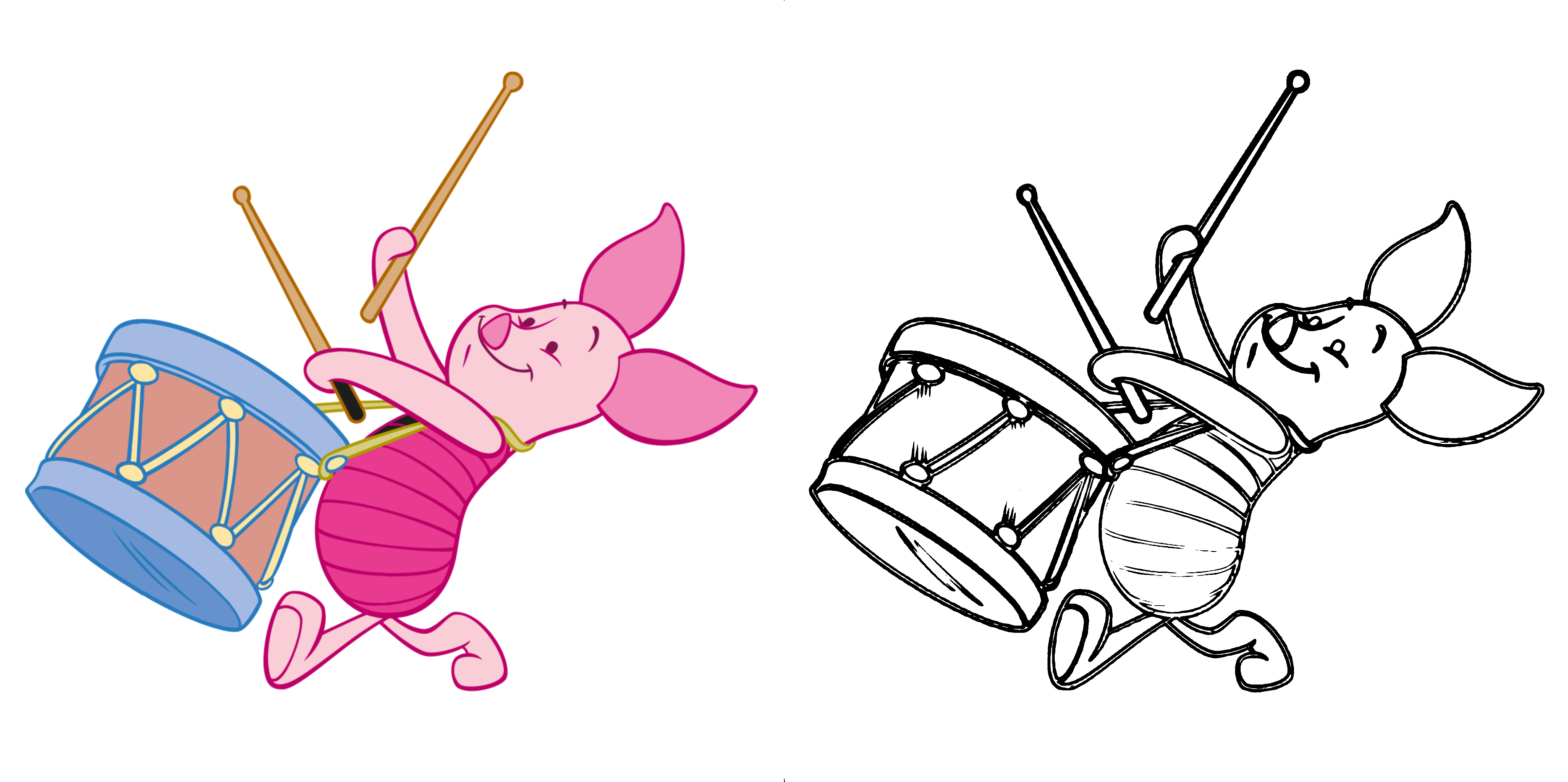 Winnie the Pooh - Piglet Bild
